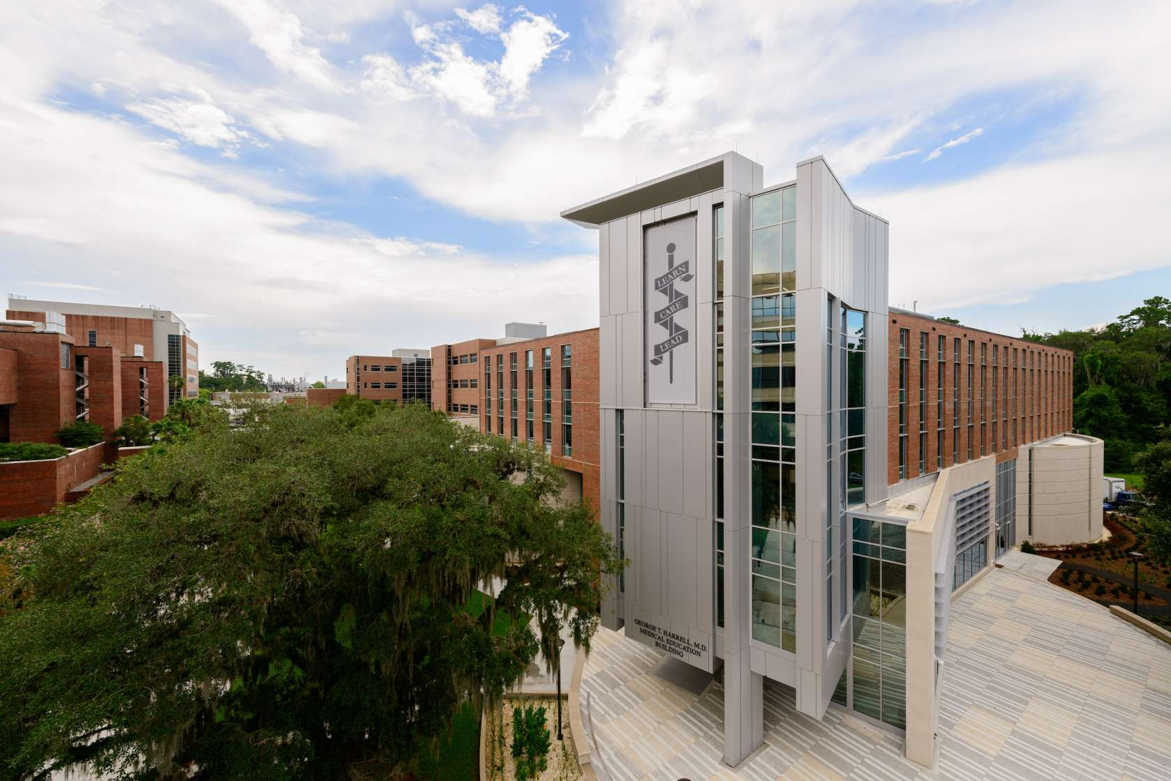 Harrell Medical Education Building UF Monuments and Buildings